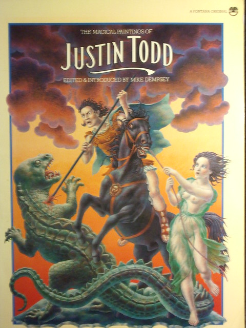 The Magical Paintings of Justin Todd, edited by Mike Dempsey (Fontana 5421)