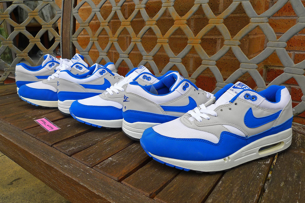 Nike Air Max (Original Mesh) 'White Varsity Royal Ligh