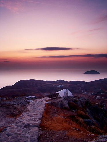sunrise soleil chora serifos lever matphotograph