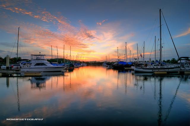 reflection of twilight