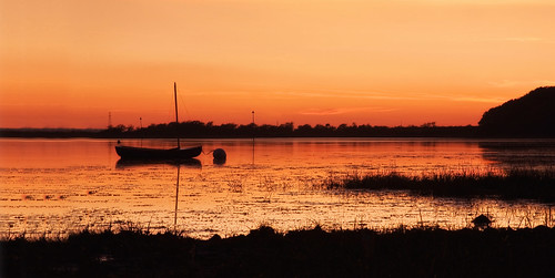 sunset boat harbour chichester