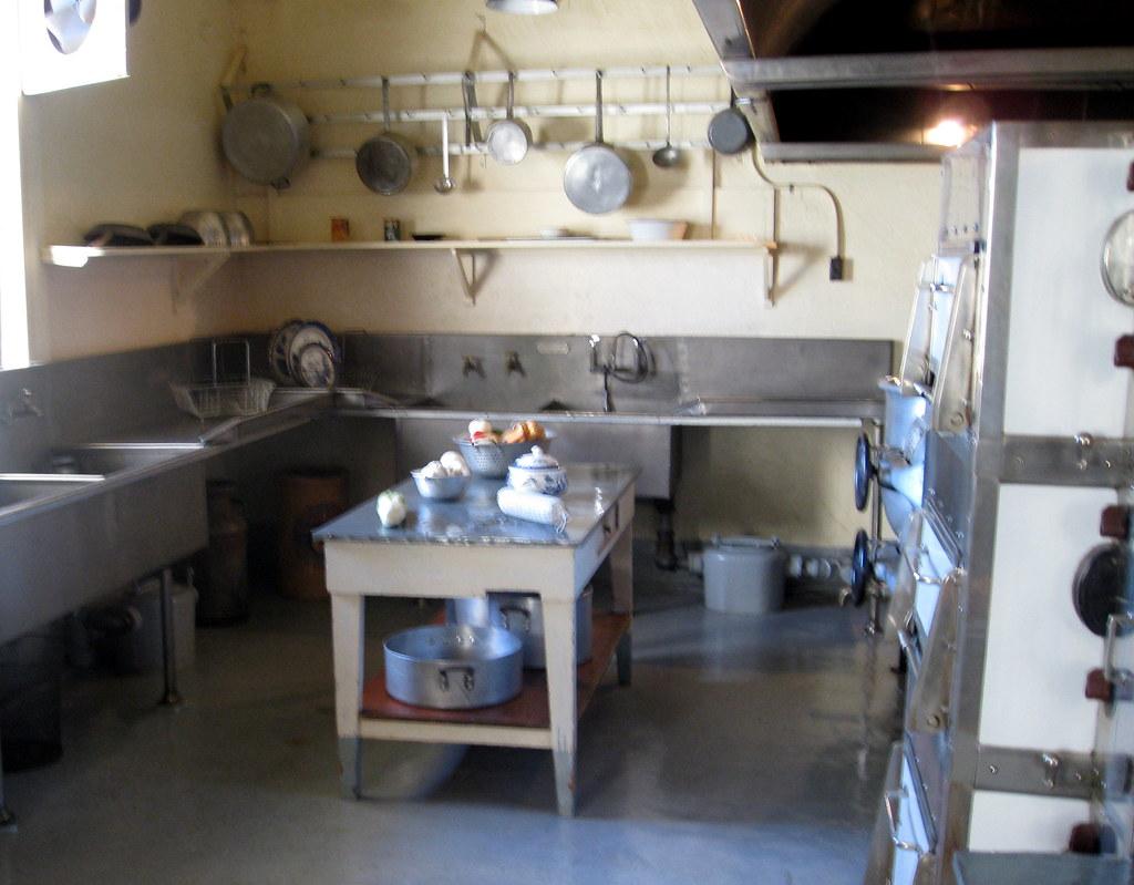 San Simeon Hearst Castle Kitchen 2 Jared Flickr