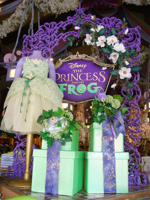 The Princess and the Frog Display: World of Disney WDW