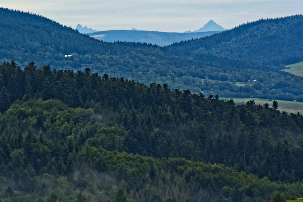 Odległe szczyty Tatr / Distant peaks of Tatra
