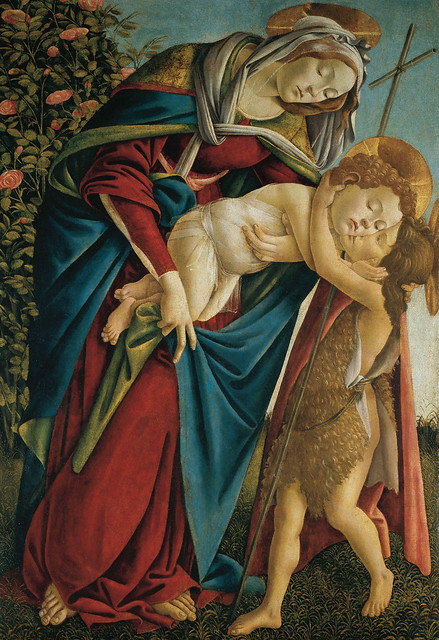 Sandro Botticelli: Virgin and Child with the Young St. John