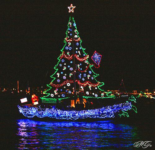 Christmas Boat Parade Newport Beach.2009 Newport Beach Christmas Boat Parade 2 C 2009 Marcie Go