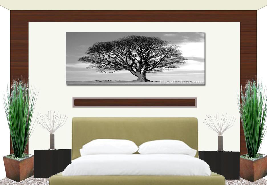 Bedroom Backsplash Add A Big Wood Panel Over Back Wall Wi Flickr