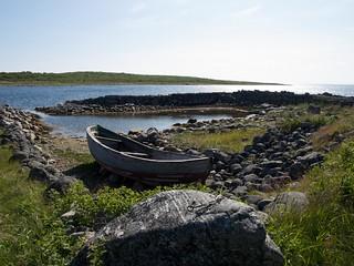 Medieval harbour on Zayatsky Island | by Jpek