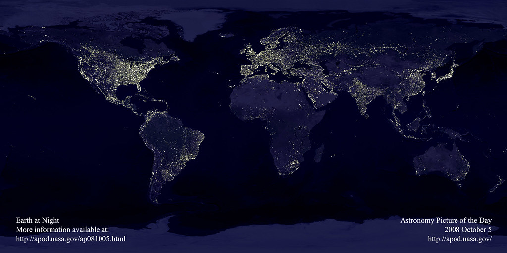 Earth At Night..... Can you see your city?