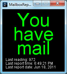 Mailbox Monitor Mail Notification | by dusgrave