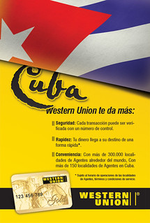 Western Union Cuba Developed for: PGAdvertising US