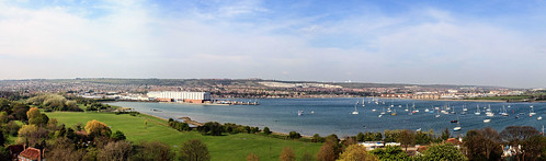 Panorama North to East from Porchester Castle | by Hexagoneye Photography