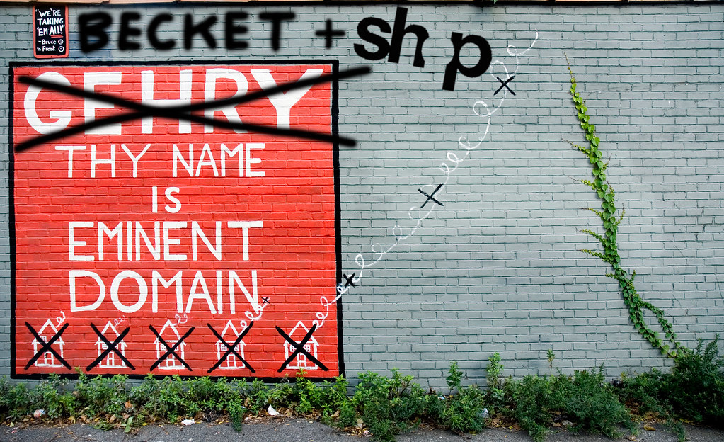"""BECKET + SHoP THY NAME IS EMINENT DOMAIN""   Carlton ..."
