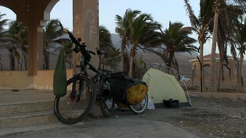 Camping near Salalah, Oman | by tomsbiketrip.com