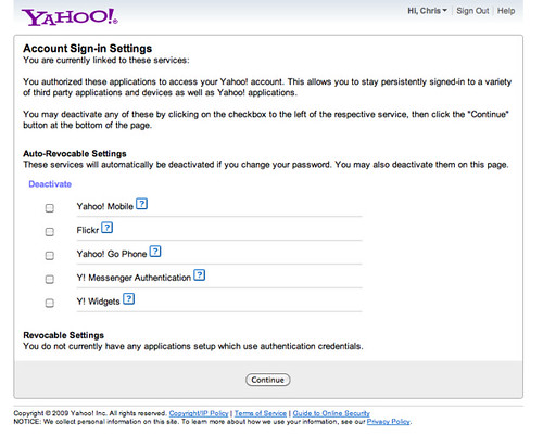 Account Sign-in Settings | api login yahoo com/WSLogin/V1/un