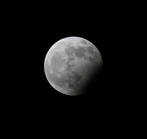 sky moon eclipse newyear partial rathdrum