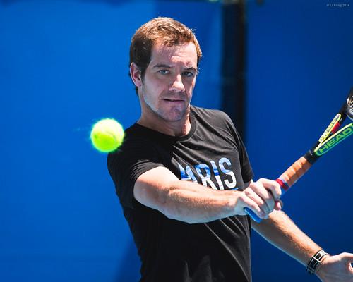 Australian Open - Richard Gasquet Practice | by ljology