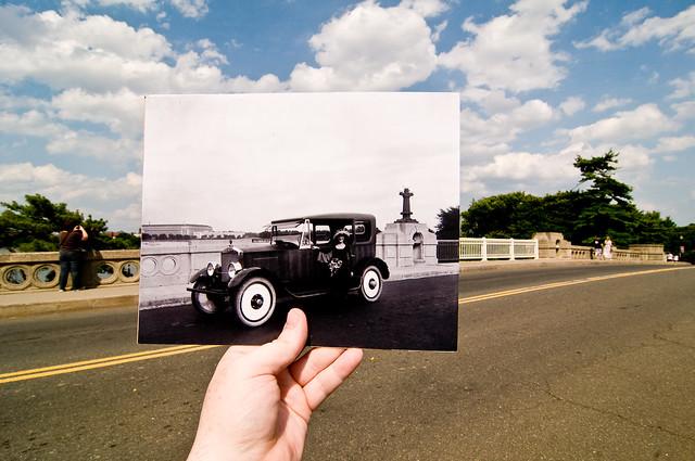 Looking Into the Past: Inlet Bridge, Washington, DC