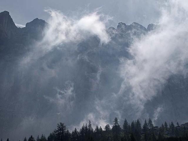 la danza delle nubi
