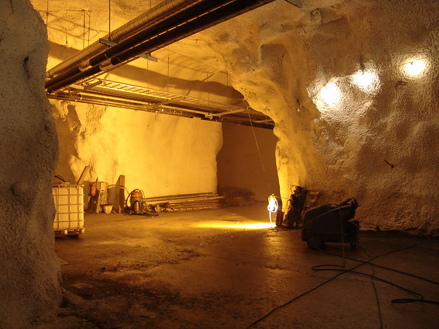 Interior of the Svalbard Global Seed Vault