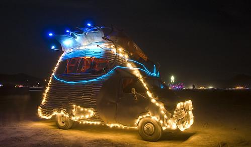 Burning Man 2009 - Fish Van