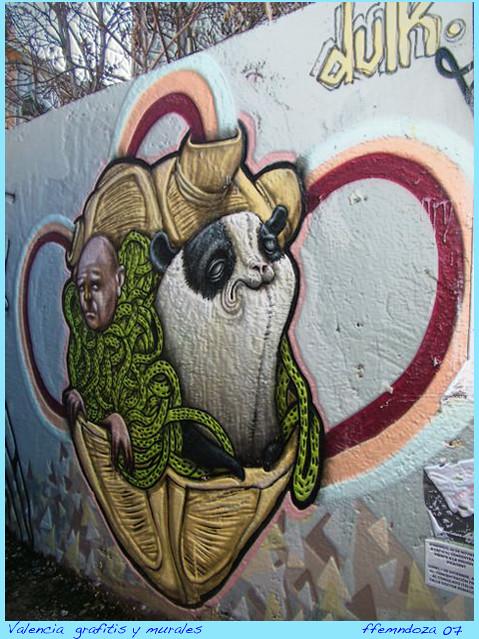Grafities y murales/casco antiguo/ Valencia