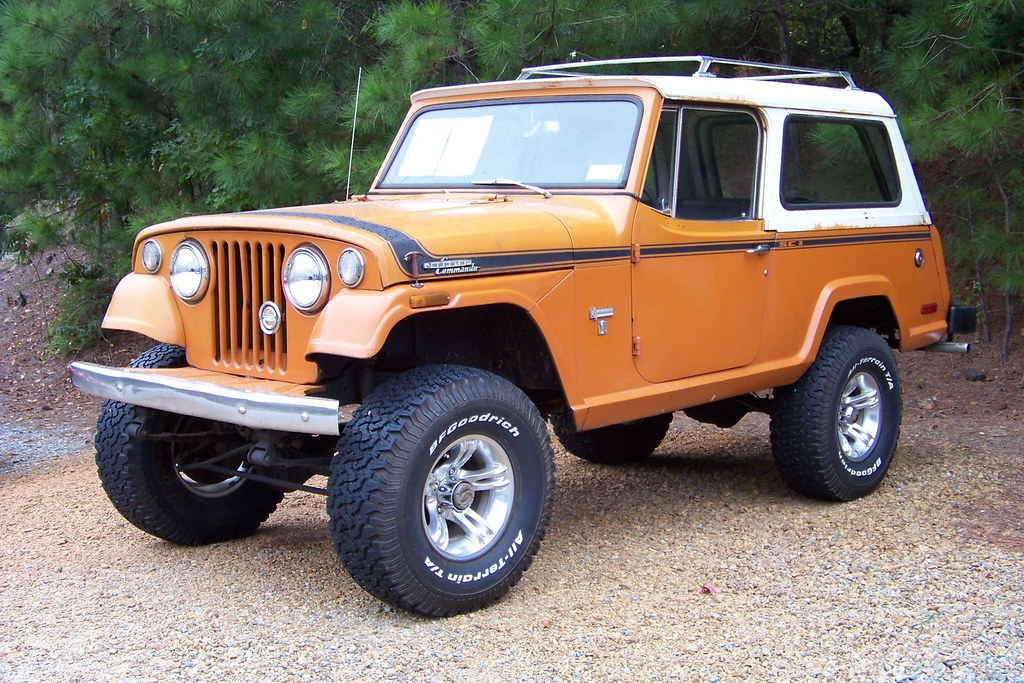 71 Jeepster Commando | found at a local used jeep store
