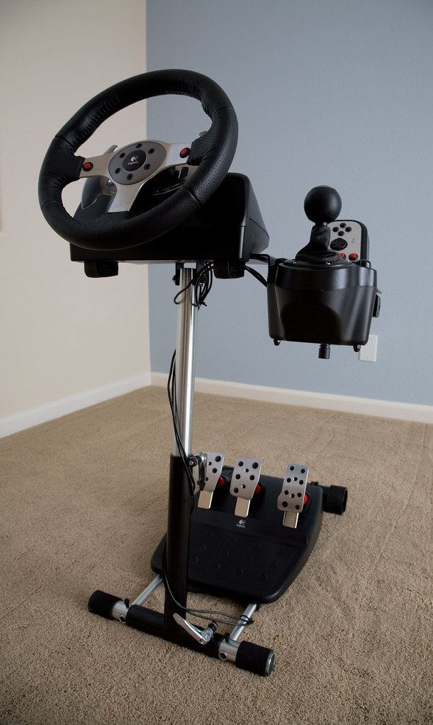 Logitech G25 - Wheel Stand Pro 1   Alas, I have run out of r…   Flickr