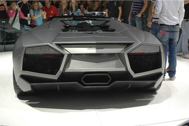 Lamborghini Reventon Back View Federico Lentini Flickr