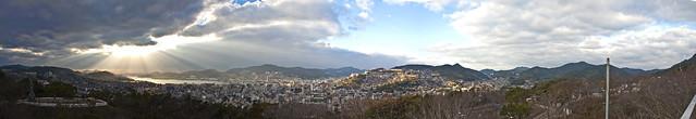 Panorama View of Nagasaki