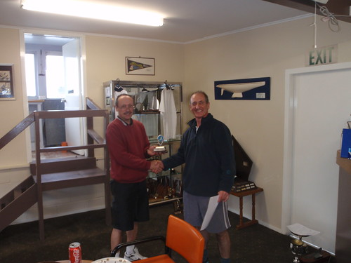Jeff Coffin winner of the 2010 River Race Trophy | by PLSC (Panmure Lagoon Sailing Club)