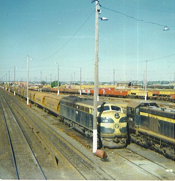 North Geelong Yard 2, c 1978 by MurrayJoe