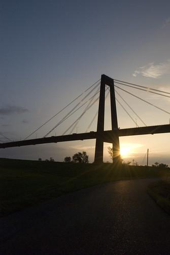bridge sunrise hill