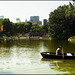Barcas en el lago de Central Park