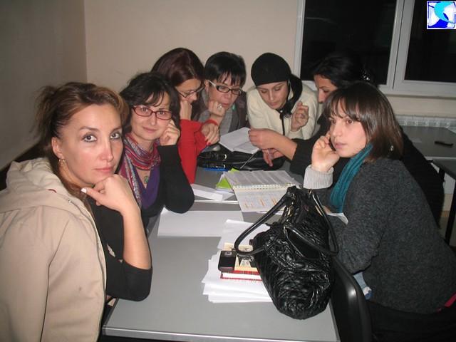 PR School - ვმუშაობთ ჯგუფებში