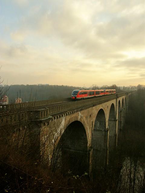 DB Regio 642.158 , Görlitz , Deutschland 12.12.2009