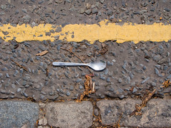 spoon in the road | by Simon Sharville