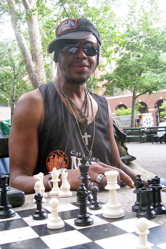 Chess at Washington Square Park / 20090818.SD850IS.2592 / SML | by See-ming Lee (SML)