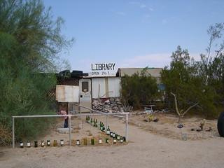 Slab City Library | by John Steedman