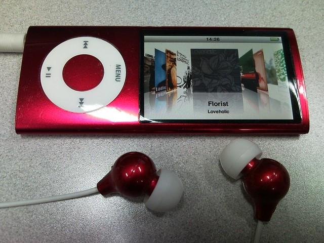 iPod nano 5g.