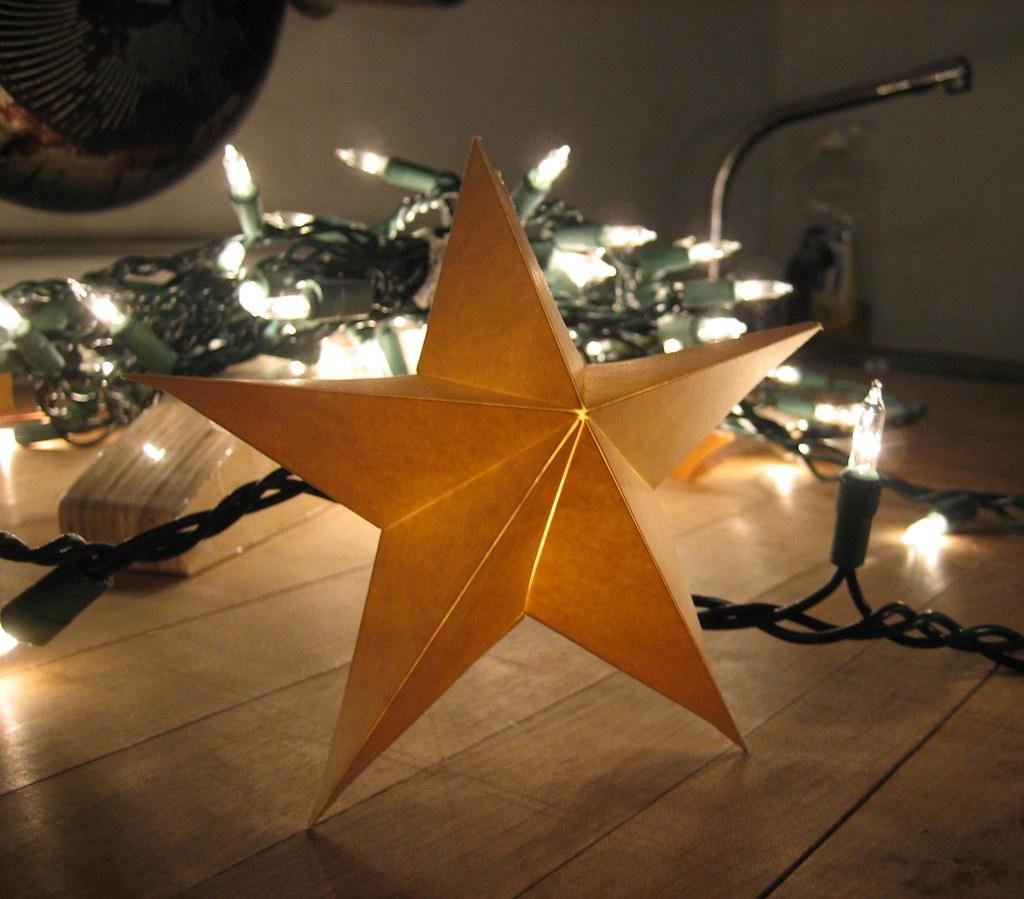Star shaped light difusser