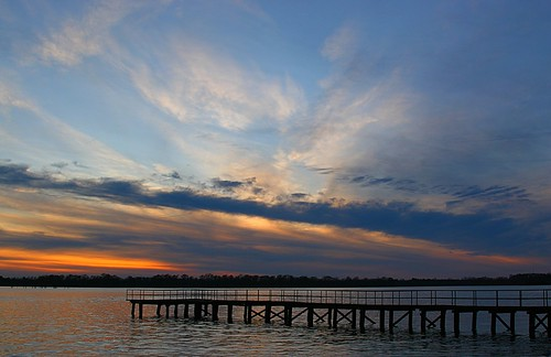 sunset water river landscape pier nc dock colorful scenic washingtonpark riverscape pamlicoriver jaygetsinger