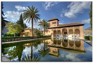 El Partal, La Alhambra de Granada.   by Vvillamon