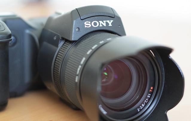 """Sony masterpiece """"DSC-F828""""."""