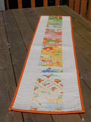 """Dream On"" table runner"