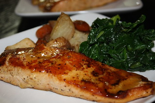 Maple Dijon Roasted Salmon | by chefelf