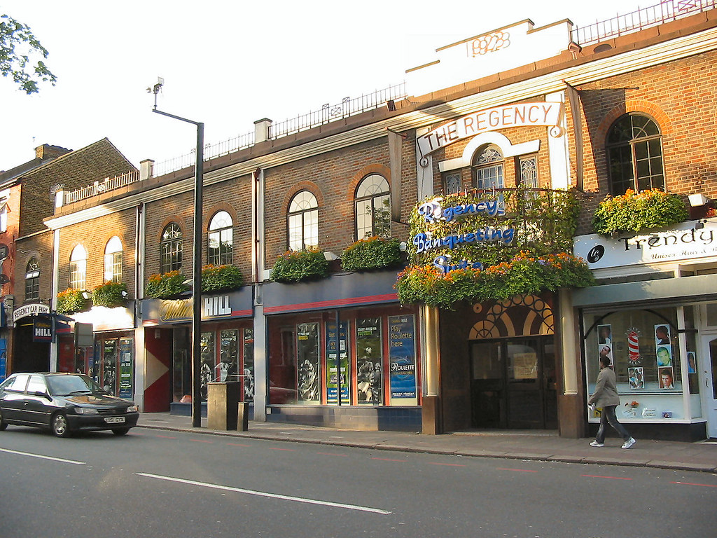 Tottenham Betting Shops #11 (with florals) - 110-112 Bruce ...