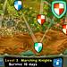 Knights onrush - menù delle location