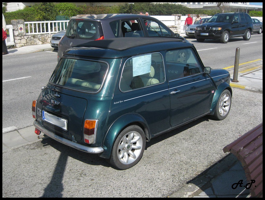 1999 Rover Mini Cooper British Open Edition Its Plate Was Flickr