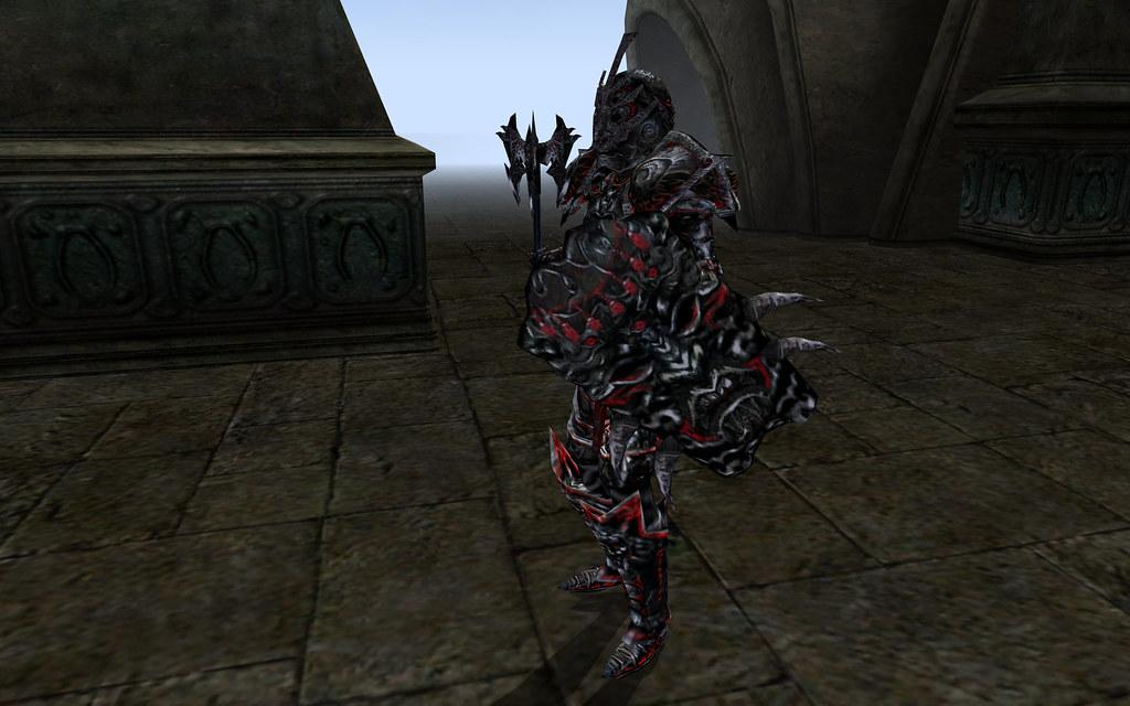 Daedric Face of Terror, Daedric Mace, Daedric Tower Shield